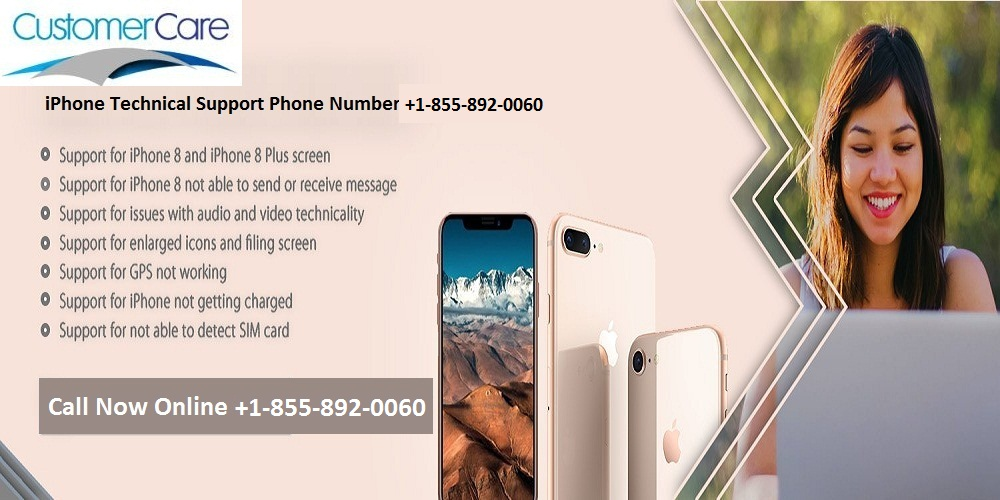 Contact iPhone Technical Support Phone Number 1-855-892-0060