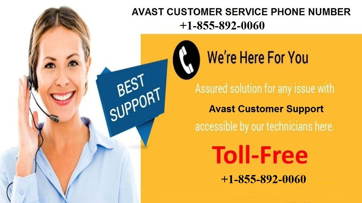 Avast Customer Service Phone Number +1-855-892-0060
